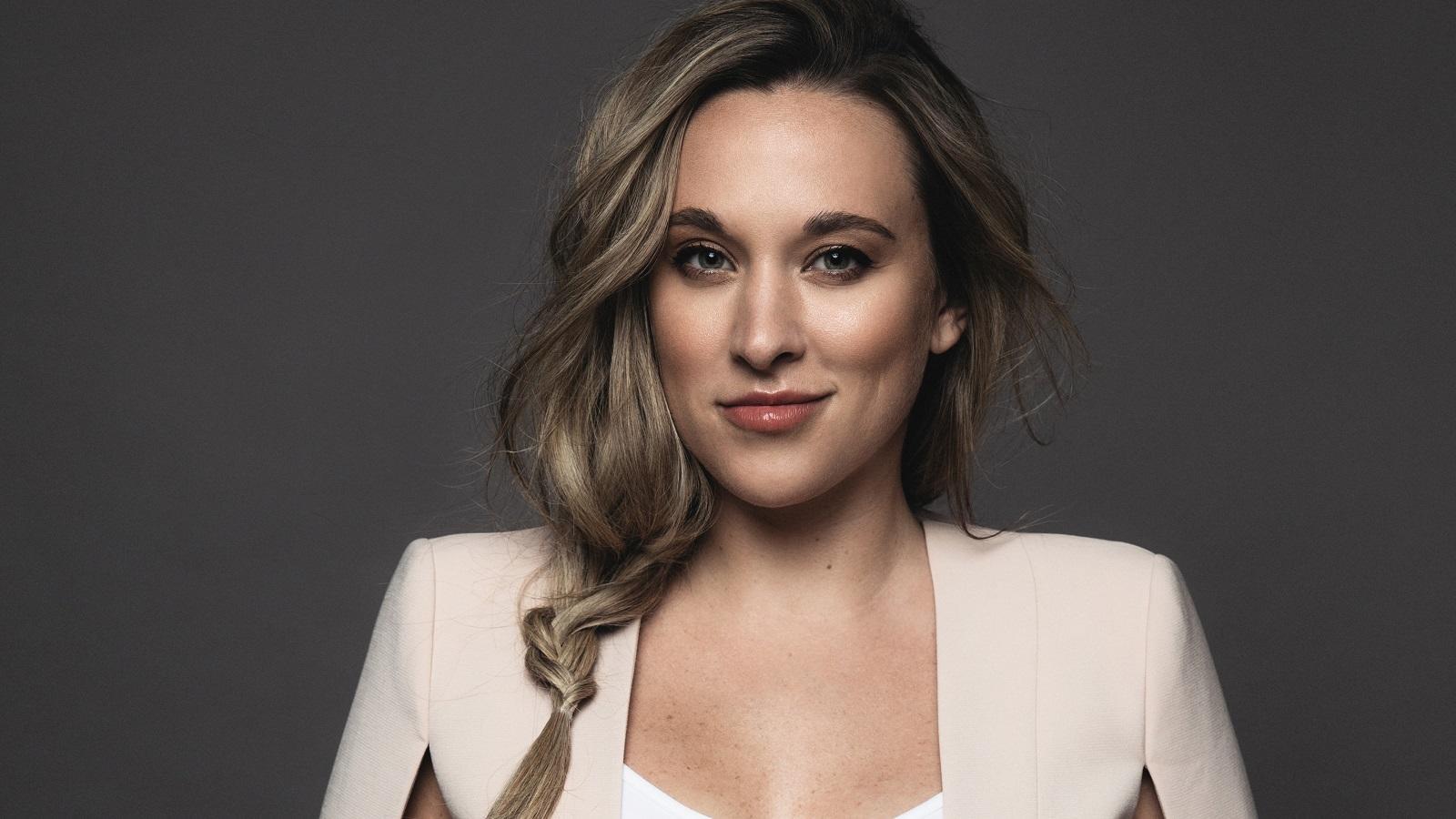 Crime Junkie podcast host Ashley Flowers